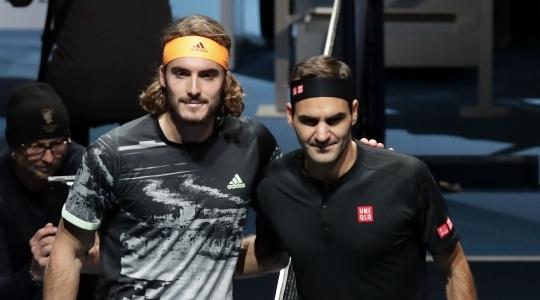 Циципас останавливает Федерера на пути к финалу Итогового турнира - изображение 3