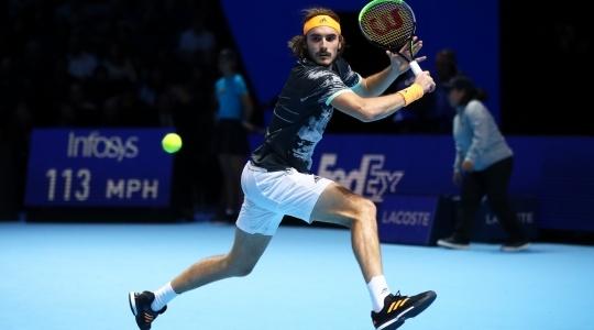 Циципас побеждает Тима в финале Итогового турнира - изображение 3
