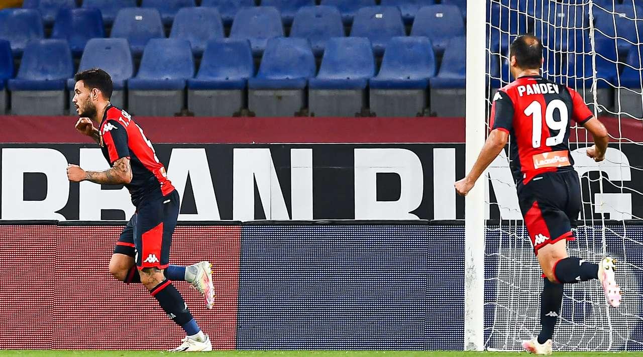 Antonio Sanabria marca doblete en victoria de Genoa