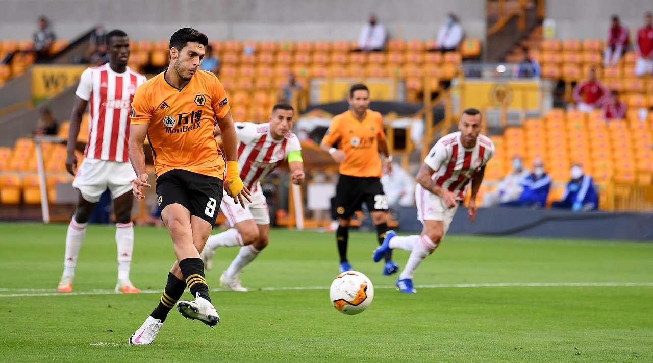 Raúl Jiménez Olympiacos