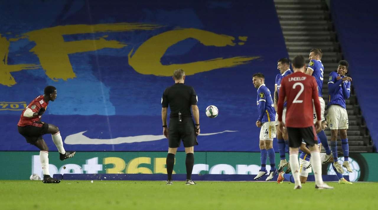 Brighton vs. Manchester Utd. Match review 09/30/2020. ENGLAND: EFL Cup - 1/8-finals