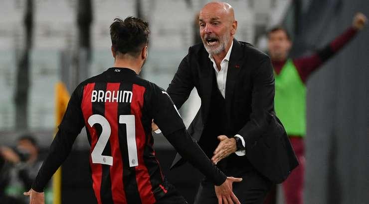 Hedef!  Brahim Diaz (AC Milan) bir ribaunttan topu alır ve kutunun kenarından sağ üst köşeye bir şut atar.  0: 1.
