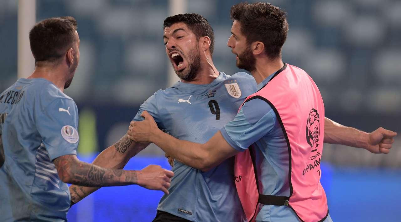 Uruguay vs Chile Highlights & Full Match 21 June 2021