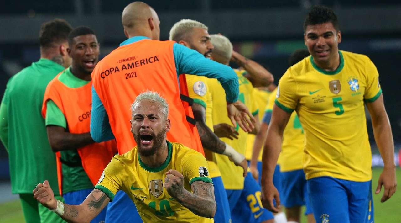 Brazil vs Colombia Highlights & Full Match 24 June 2021