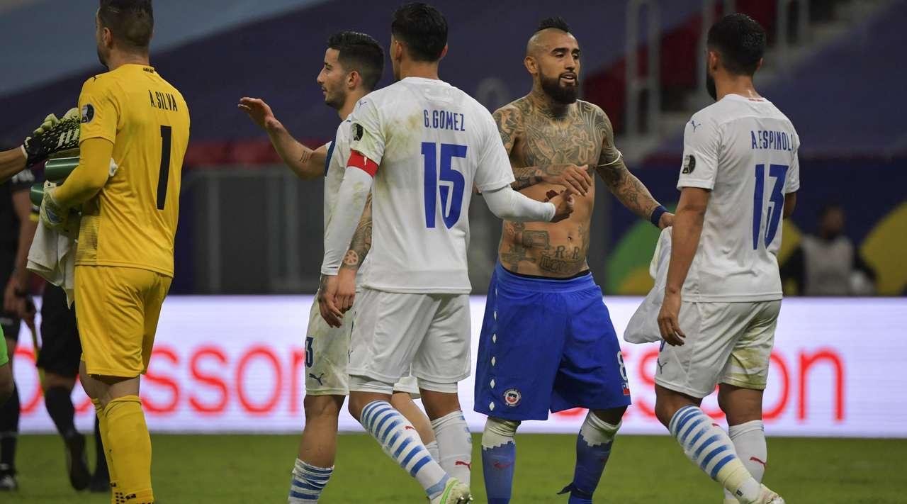 Chile vs Paraguay Highlights & Full Match 25 June 2021