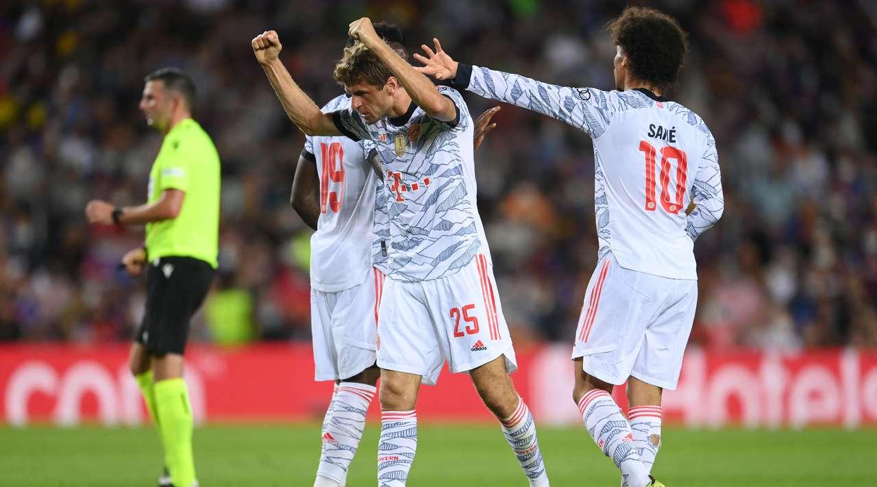 Football news: Barcelona vs Bayern Munich Highlights & Report 14 September 2021. UEFA Champions League