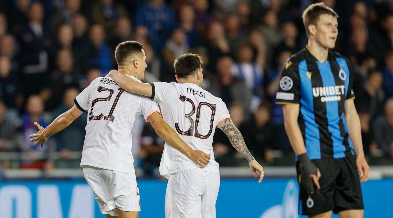 Football news: Club Brugge KV vs PSG Highlights & Report 15 September 2021. UEFA Champions League